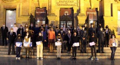 La Hermandad de Amigos de la Guardia Civil y Fundación Magtel entregan premios a la excelencia académica