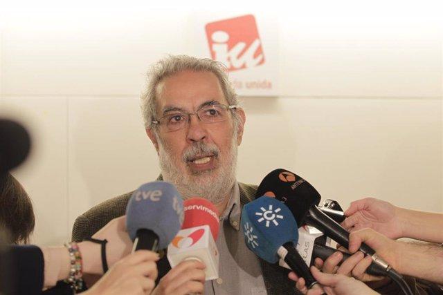 Imagen de recurso del cabeza de lista de la precandidatura crítica con la dirección de IU, José Antonio García Rubio.