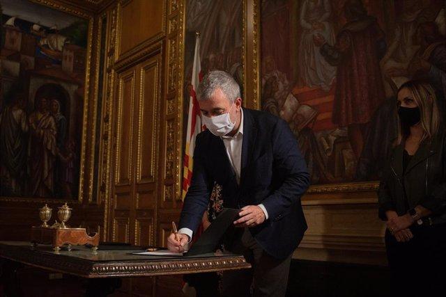 El teniente alcalde de Barcelona Jaume Collboni