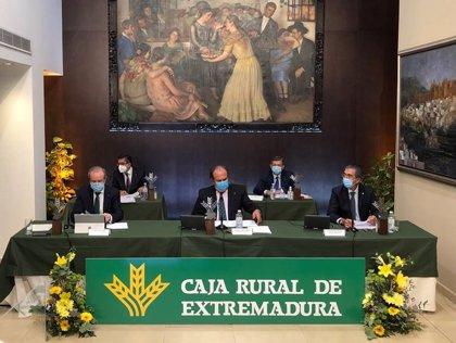 Caja Rural de Extremadura incrementó un 35% su beneficio neto en 2019 hasta los 8,9 millones de euros