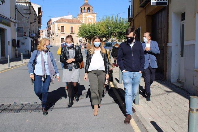 Pp Clm (Cortes De Voz Y Fotografías) Declaraciones De Carolina Agudo En Villatobas (Toledo)