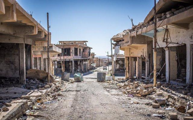 Irak.- Irak reanuda la exhumación de las fosas comunes yazidíes en Nínive