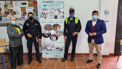 Ayuntamiento de Algeciras y Policía Local abordan con vecinos de Fuente Nueva la seguridad en el barrio