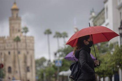 El frente atlántico dejará este domingo cielos nubosos con precipitaciones en gran parte del país