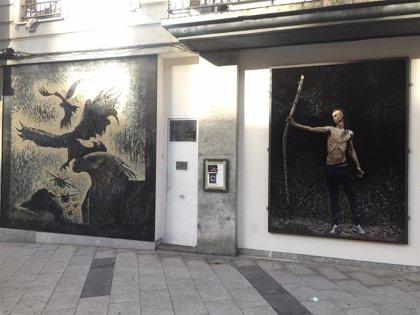 El espacio 'Aretxaga-Miribilla' culmina su transformación con el último mural del proyecto del artista Andoni Euba