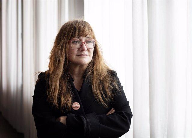 La directora de cinema, Isabel Coixet, posa després d'una entrevista a Europa Press, a Valladolid, Castella i Lleó, (Espanya), a 24 d'octubre de 2020. Coixet ha rebut l'Espiga d'Honor de la Setmana Internacional de Cinema de Valladolid (Seminci).