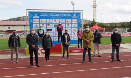 La cacereña Sonia Bejarano, campeona de España de Duatlón