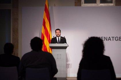 "Aragonès defiende que Catalunya tenga ""voz propia"" en organizaciones como la ONU"