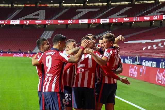 Fútbol/Primera.- Crónica del Atlético de Madrid - Betis, 2-0