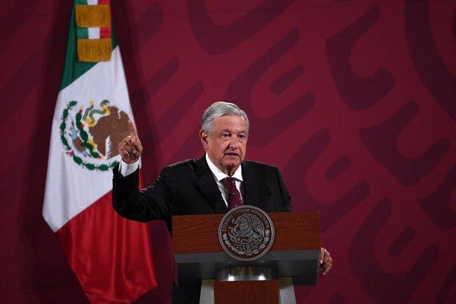 El presidente de México, Andres Manuel López Obrador