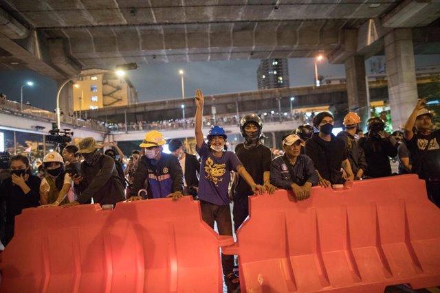 Tailandia.- Manifestantes retomarán las protestas en Tailandia después de que el