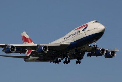 """Un avión 747 de British Airways se convierte en """"plató"""" de cine y televisión"""