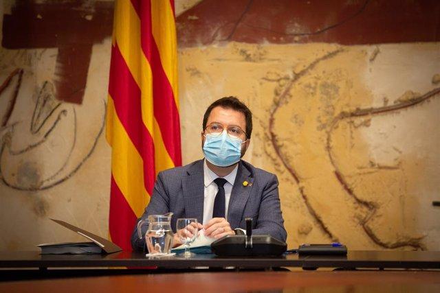 El vicepresident del Govern i conseller d'Economia i Hisenda, Pere Aragonès.