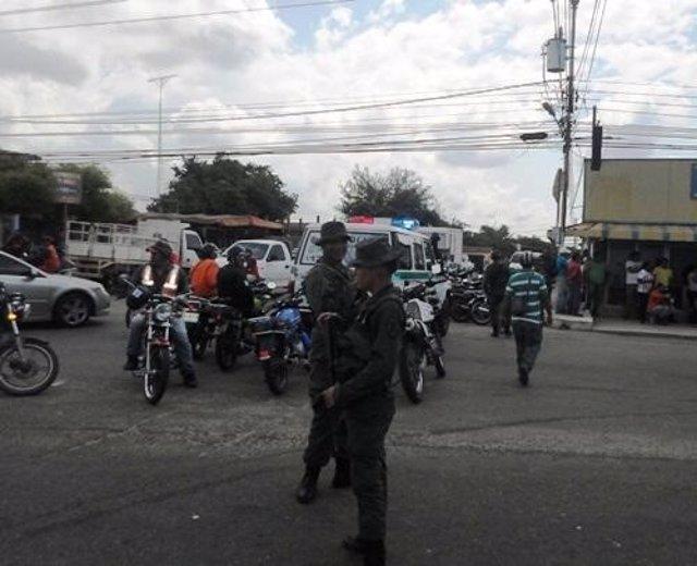 Agentes del Servicio Bolivariano de Inteligencia Nacional (Sebin)