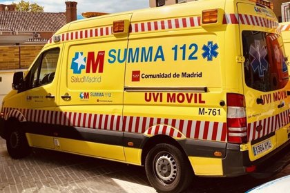 Muere un motorista de 40 años tras sufrir un choque frontal con un turismo en la M-609