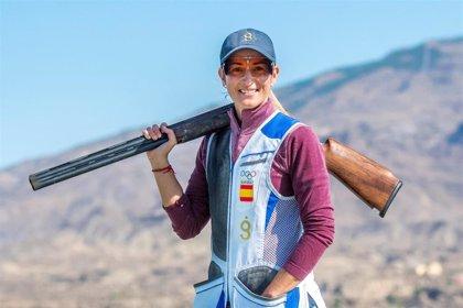 La deportista Fátima Gálvez protagoniza en el Campo de Tiro de Gádor un nuevo acto del programa 'Mentor 10'