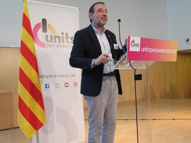 El líder d'Units per Avançar, Ramón Espadaler
