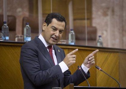 Moreno defenderá este lunes en la Conferencia de Presidentes 23.000 millones de los fondos UE para Andalucía
