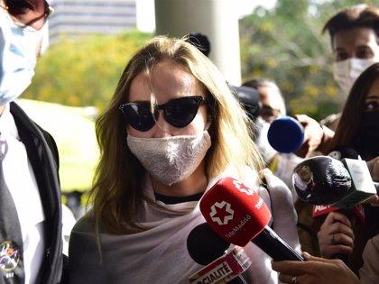 Las contradictorias declaraciones de Ángela Dobrowolski a su salida de los juzgados