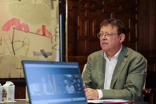 El 'president' de la Generalitat, Ximo Puig, en una imagen de archivo