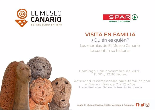 El Museo Canario dará a conocer la historia de las momias prehispánicas en  la Visita en Familia del 1 de noviembre