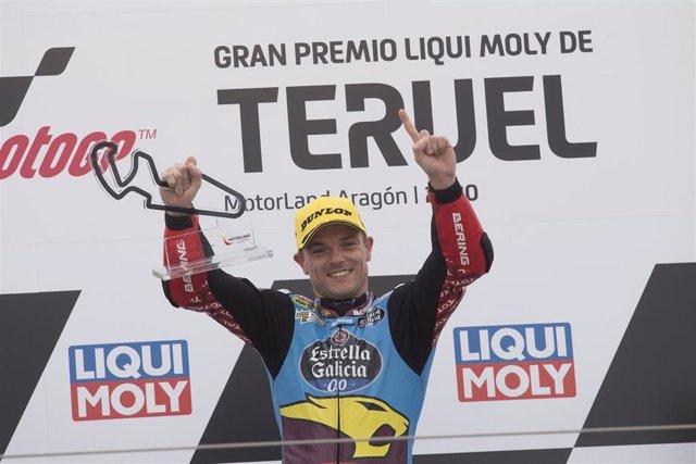 El piloto británico de Moto2 Sam Lowes