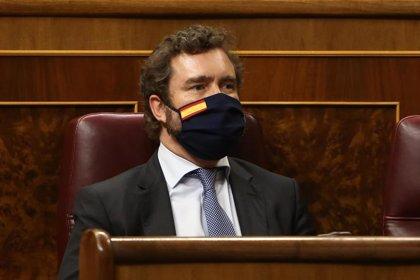 """Vox señala que España va """"camino del totalitarismo"""" con un estado de alarma que """"recorta"""" libertades"""