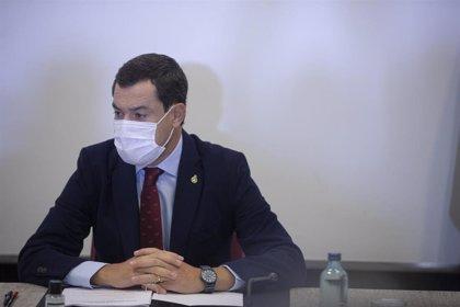 """Moreno: """"Andalucía ejercerá sus competencias y responsabilidades ante la pandemia sin rehusar la toma de decisiones"""""""