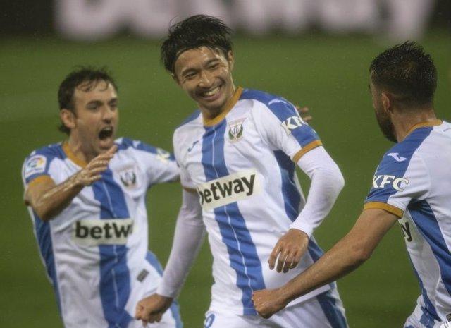 Fútbol/Segunda.- (Crónica) El Leganés entra en racha y mira a un Espanyol sin pu