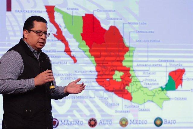 El director de Epidemiología del Ministerio de Salud de México, josé Luis Alomía
