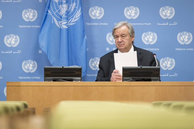 United Nations Secretary-General Guterres presser in New York