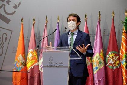 """Mañueco defiende el Estado de Alarma, pero ve """"excesivo"""" aplicar los seis meses"""