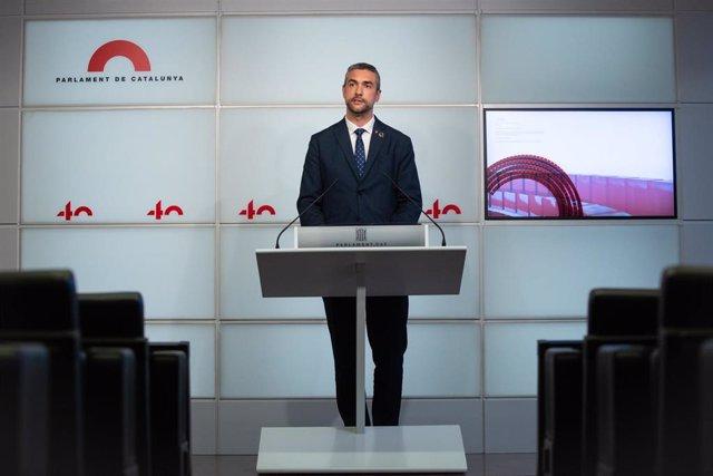 El conseller de Acción Exterior de la Generalitat, Bernat Solé.