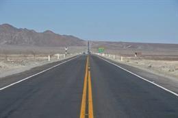 Carretera Panamericana en su paso por Perú