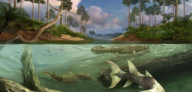 Grandes mareas pudieron favorecer la evolución a la tierra firme