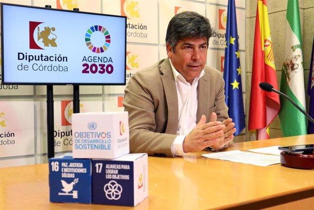 El delegado de Consumo, Participación Ciudadana y Protección Civil en la Diputación de Córdoba, Rafael Llamas
