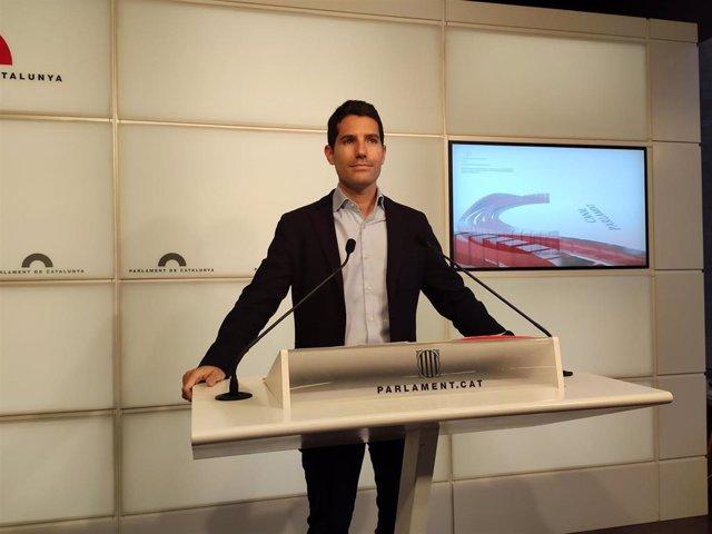 El diputado de Cs Nacho Martín Blanco.