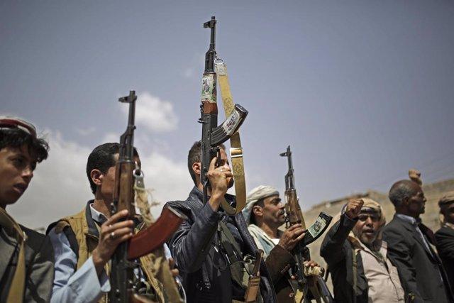 Yemen.- La coalición asegura haber destruido dos drones con explosivos lanzados