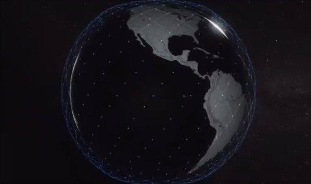 Space X proyecta sembrar la órbita de Marte de satélites de Internet
