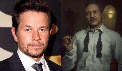 Primera imagen del bigotudo Mark Wahlberg en Uncharted