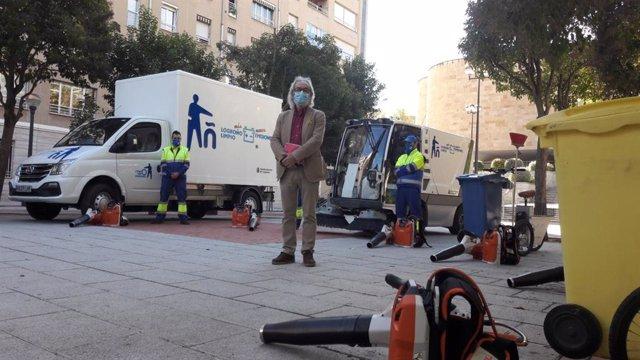 El concejal de Medio Ambiente, Jose Manuel Zúñiga