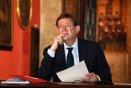 Puig exige gestionar el 10% de fondos europeos, un plan para los jóvenes y un espacio Schengen sanitario