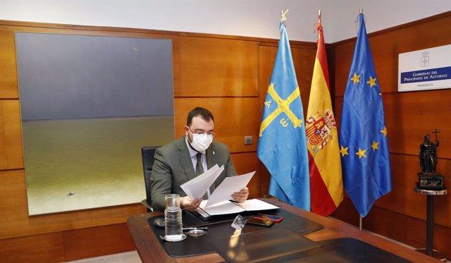 Cvirus.- Barbón propondrá este lunes el cierre de Asturias