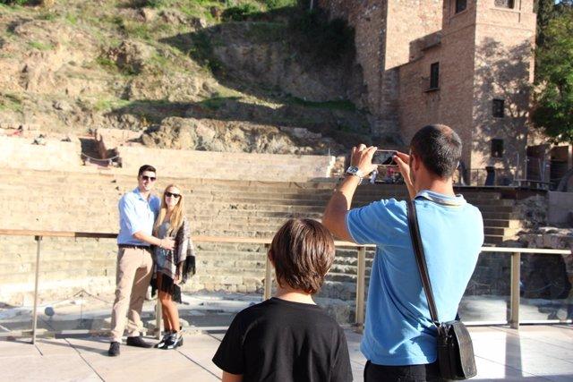Turismo, Turistas, Foto, móvil, tecnologías, smartphone