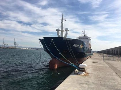 Ocmis Maritime se lleva el barco 'Navi Sky', atracado en el Port de Tarragona, por 710.000 euros