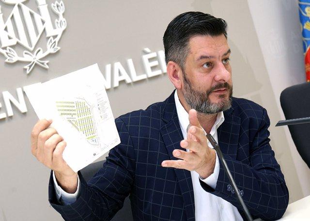 El concejal de Cultura Festiva en València, Carlos Galiana, en una imagen reciente.