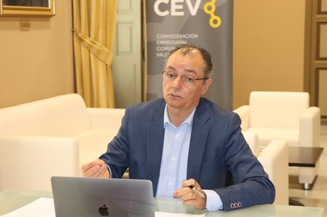 El presidente de la CV, Salvador Navarro.