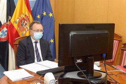 """El presidente de Ceuta pide un """"plus adicional"""" para la ciudad en el reparto de los fondos europeos"""