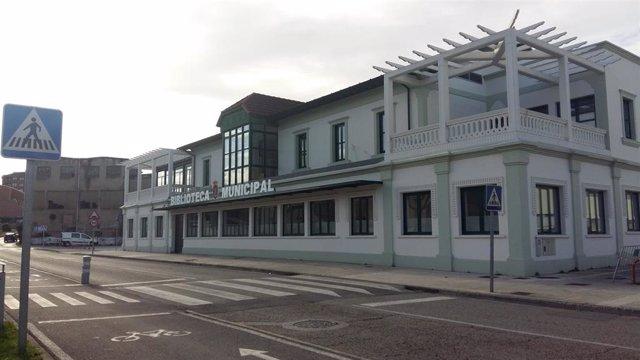 Nueva sede de la biblioteca municipal en Cros