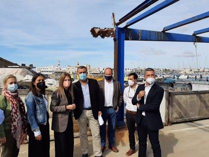 La Junta invierte 212.000 euros en la mejora del Puerto de Rota (Cádiz)